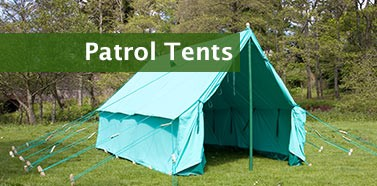 Canvas Patrol Tents & Blacks of Greenock - Blacks of Greenock