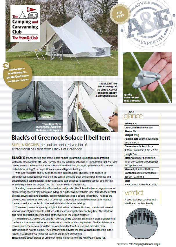 Solace Bell Tent Review