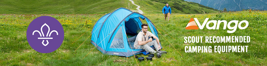 Vango Tent Scout Recommended Kit Camping