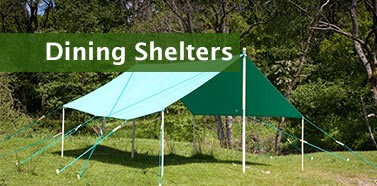 Canvas Dining Shelter